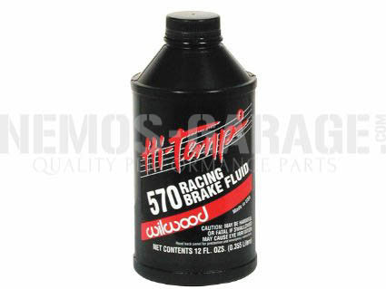 Wilwood Hi-Temp Brake Fluid (350 mL/0.73 US Pint)