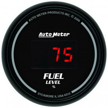 AutoMeter Sport-Comp Digital Fuel Level Gauge