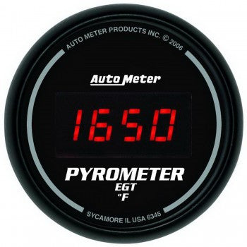 AutoMeter Sport-Comp Digital Pyrometer Gauge