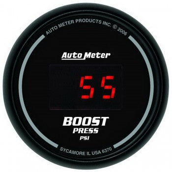 AutoMeter Sport-Comp Digital Boost Gauge