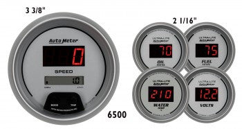 Autometer Ultra-Lite Digital Gauge Kit