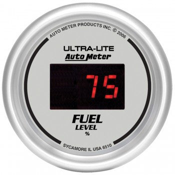 AutoMeter Ultra-Lite Digital Fuel Level Gauge