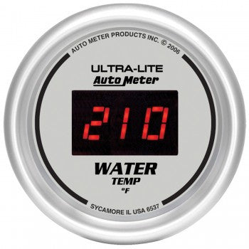 AutoMeter Ultra-Lite Digital Water Temperature Gauge