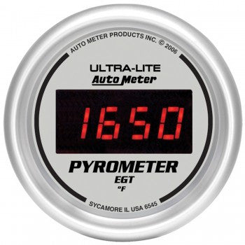 AutoMeter Ultra-Lite Digital Pyrometer Gauge