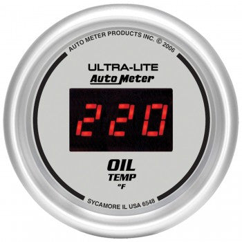 AutoMeter Ultra-Lite Digital Oil Temperature Gauge
