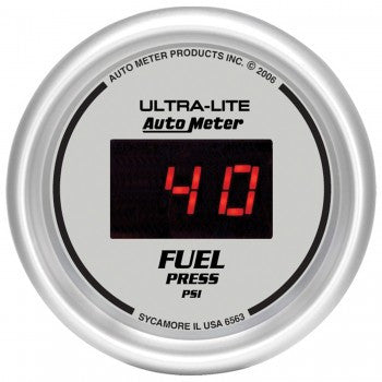 AutoMeter Ultra-Lite Digital Fuel Pressure Gauge