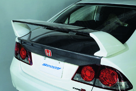 Spoon Sports Carbon Trunk - 06-11 Civic Type R (FD2)