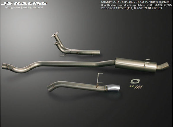 J's Racing R304 Series Stainless Steel Exhaust Systems - 02-06 RSX (DC5)