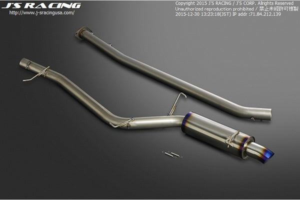 J's Racing C304 Series Stainless Steel Exhaust Systems - CL7