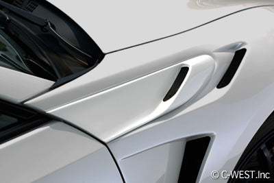C-West Front Fender Garnish - 2017+ Toyota GT-86 / 13-17 FR-S / 13+ BRZ (ZN6/ZC6)