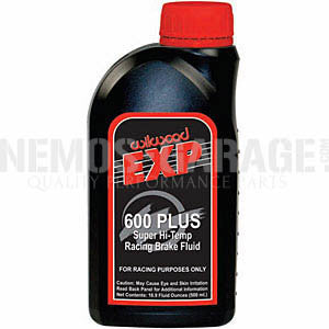 Wilwood EXP600 Super Hi Temp Brake Fluid (500mL/1.05 US Pint)
