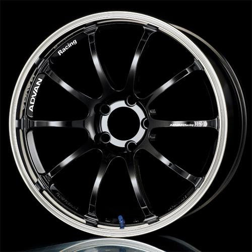 Advan RS-D Wheels - Machined Black