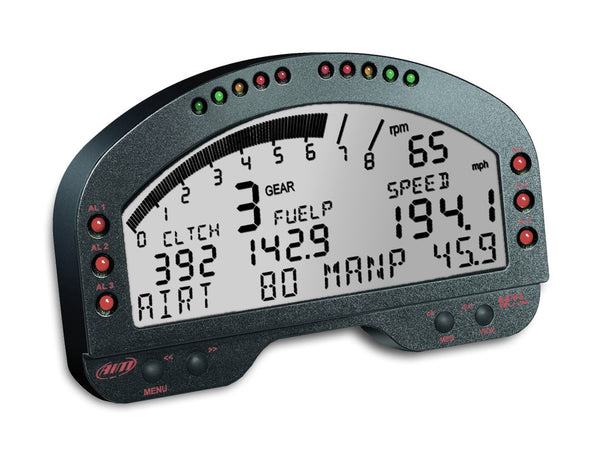 AiM Sports MXL Pista Digital Dash Display