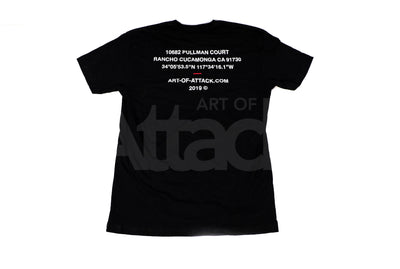 "ART OF ATTACK ""LAUNCH EDITION"" T-SHIRT"