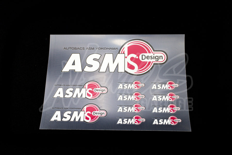 ASM I.S. Design Sticker Sheet