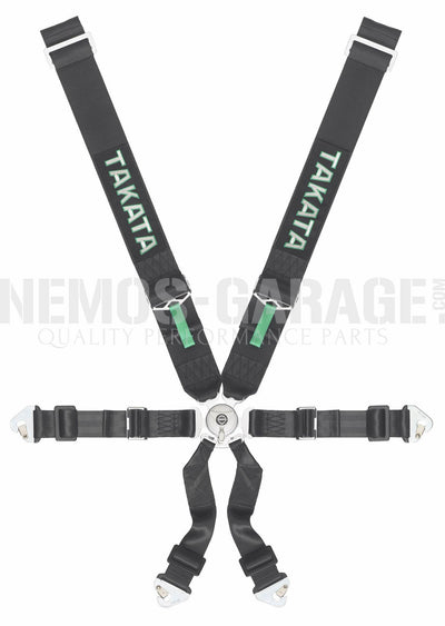 Takata Race 6 FIA/SFI Certified Harnesses