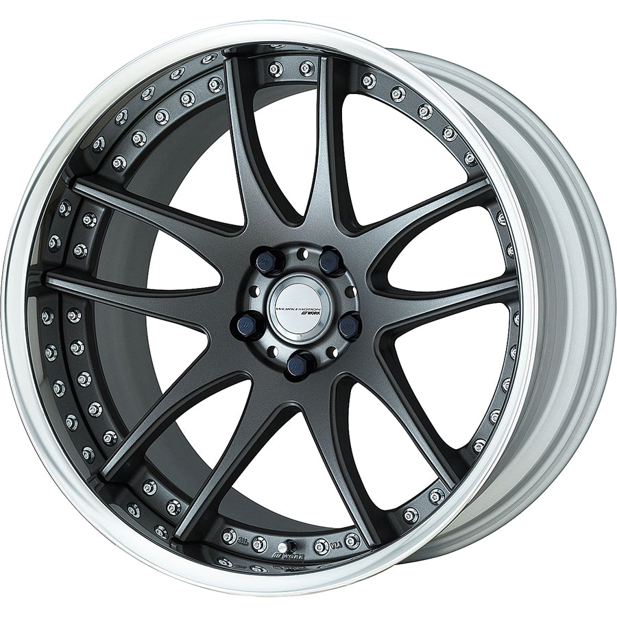Work Emotion CR 3 Piece Wheel