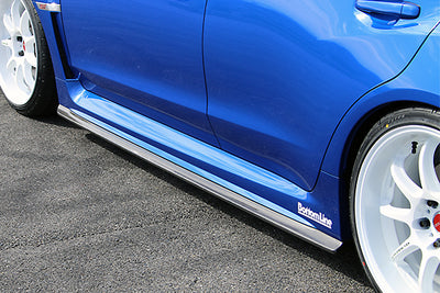 Chargespeed BottomLine Carbon T1 Side Skirts - 15-19 Subaru WRX STI