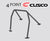 Cusco D1 Roll Cage 4 Point (2 Pass) - Mitsubishi EVO 9