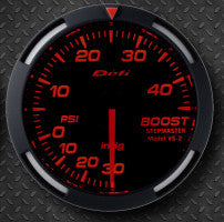 Defi 52mm Racer Series Boost (45 PSI) Gauges