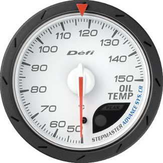 Defi Advance CR 60mm Oil Temperature Gauges