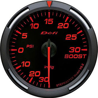 Defi 60mm Racer Series Boost Gauges