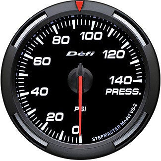 Defi 60mm Racer Series Pressure (Fuel or Oil) Gauges