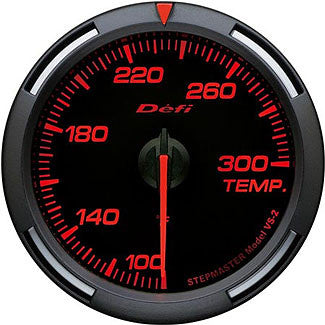 Defi 60mm Racer Series Temperature (Water or Oil) Gauges