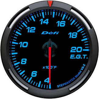 Defi 60mm Racer Series Exhaust Gas Temperature Gauges