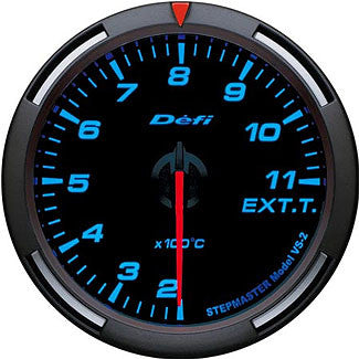 Defi 60mm Racer Series Exhaust Gas Temperature (Celsius) Gauges