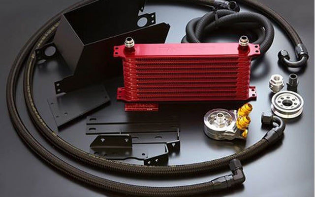 GReddy Oil Cooler Kit (Limited Edition RED) - 2013+ Scion FR-S / Subaru BRZ