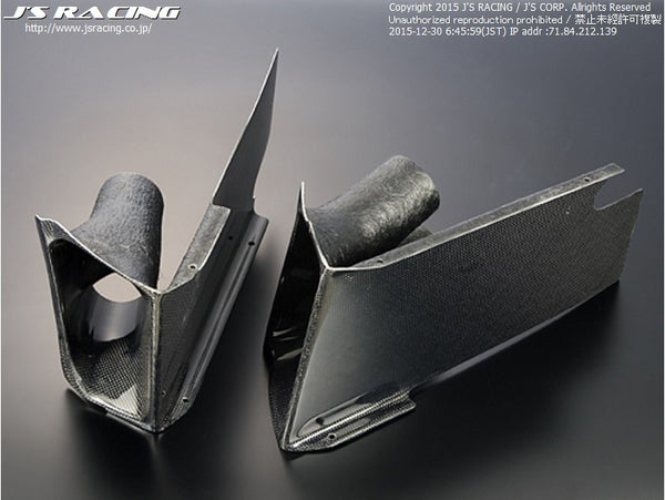 J's Racing Type GT Ducts for S2000 Type-GT kit