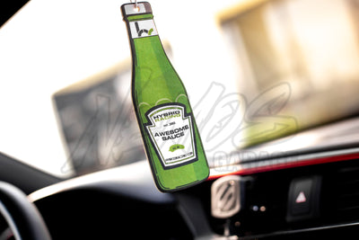 "Hybrid Racing ""Awesome Sauce"" Air Freshener"