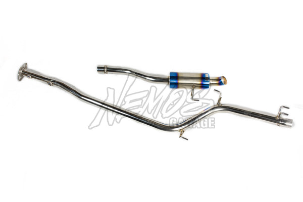 J's Racing C304 Series Stainless Steel Exhaust Systems - 12+ CR-Z (ZF1)