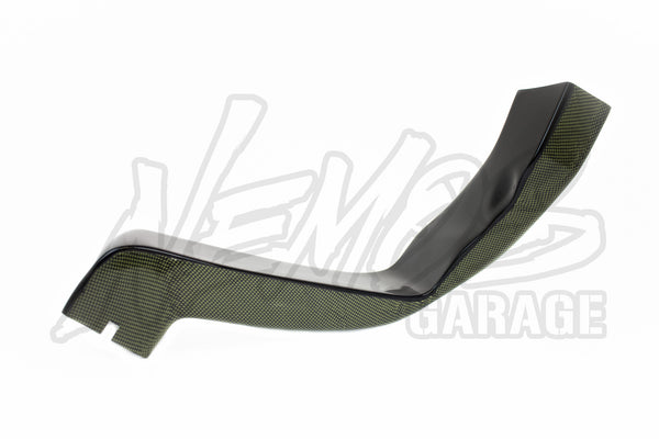 Spoon Sports Carbon Kevlar Air Duct for Stock Bumper - 00-09 S2000 (AP1/2)