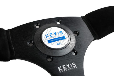 Key's Racing D-Type Steering Wheels - Leather or Suede