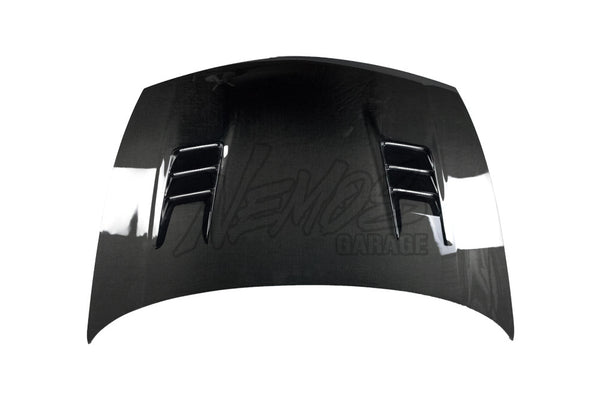 Feel's Honda TwinCam 06-11 Civic (FD2) Type R Vented Aero Bonnet Carbon