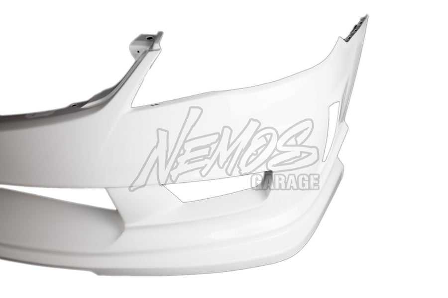 Feel's Honda Twin Cam Aero Front Bumper - 06-11 Civic Type R (FD2)