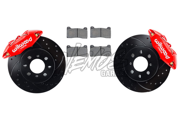 Wilwood Forged DPHA Front Caliper and Rotor Kit - Honda/Acura Applications