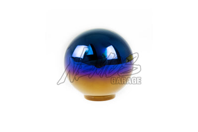 J's Racing Titanium Shift Knob - Blue Gradation