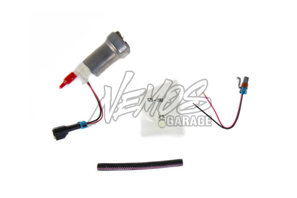 Walbro Flex Fuel 450LPH Fuel Pump Kit