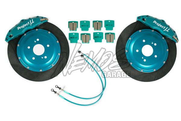 Project Mu Forged Sports 4 Piston x 4 Pad Caliper Brake Kits - 91-96 NSX (NA1)