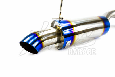 J's Racing R304 Series Stainless Steel Axle Back Mufflers - Honda/Acura Applications