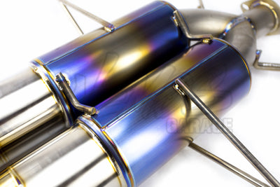 J's Racing FX-PRO 70RS Titanium Cat-Back Exhaust - 2017+ Civic Type R