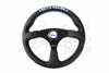 Key's Racing Flat Type Steering Wheels - Leather or Suede