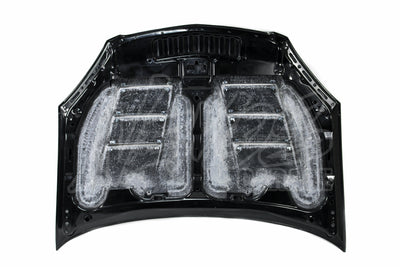 Max Racing FRP Aero Bonnet - 02-06 Integra Type R (DC5)