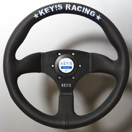 Key's Racing Semicone Type Steering Wheels - Leather and Suede
