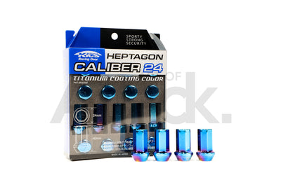 Project Kics Caliber 24 Heptagonal Lug Nuts