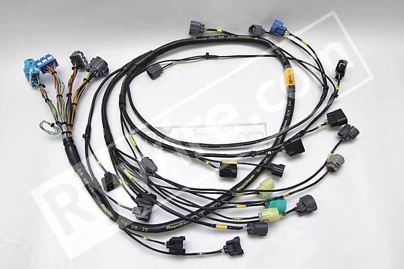 Rywire Mil-Spec F-Series & H-Series Tucked engine harness on