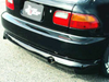 ChargeSpeed Rear Under Spoiler - 92-95 Civic Hatchback (EG)